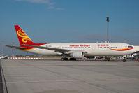 B-2492 @ LHBP - Hainan Airlines Boeing 767-300