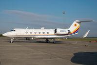 N385PD @ LHBP - Gulfstream 4