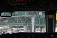 B-5187 @ ZGSZ - rainy - by Dawei Sun