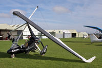 G-JOBA @ X5FB - P & M Aviation Quik GT450, Fishburn Airfield, October 2010. - by Malcolm Clarke