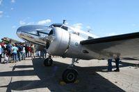 N2072 @ TIX - Lockheed 12A - by Florida Metal