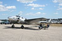 N2072 @ TIX - Lockheed 12A - by Florida Metal