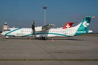 I-ADLT @ LHBP - Air Dolomiti ATr 72