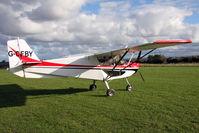 G-CFBY @ X5FB - Skyranger Swift 912S(1), Fishburn Airfield, October 2010. - by Malcolm Clarke