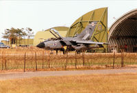 ZA490 @ EGQS - Tornado GR.1B of 12 Squadron seen at RAF Lossiemouth in the Summer of 1995. - by Peter Nicholson