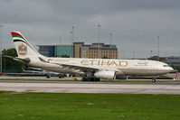 A6-EYH @ EGCC - Etihad Airways - by Chris Hall