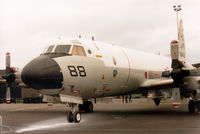 161408 @ MHZ - P-3C Orion of Patrol Squadron VP-8 on display at the 1985 RAF Mildenhall Air Fete. - by Peter Nicholson
