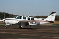 N5569N @ KTHA - KTHA Beech party 2010