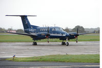 G-FPLB @ EGNV - Cobhams 's calibrator 1982 Beech BEECH B200, c/n: BB-1048 at Durham Tees Valley