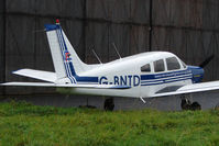 G-BNTD @ EGNV - 1977 Piper PIPER PA-28-161, c/n: 28-7716235 at Durham Tees Valley