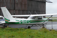G-BHFC @ EGNV - 1978 Reims Aviation Sa REIMS CESSNA F152, c/n: 1436 at Durham Tees Valley