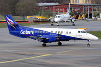 G-MAJV @ ESSB - Eastern Airways was operating the route Jönköping-Bromma for Flyglinjen during the spring of 2010 - by Roger Andreasson