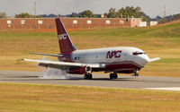 N322DL @ HKY - Northern Air Crago 737 landing in Hickory, NC.