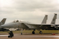 79-0062 @ MHZ - F-15C Eagle of 36th Tactical Fighter Wing based at Bitburg on the flight-line at the 1985 RAF Mildenhall Air Fete. - by Peter Nicholson
