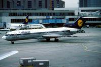D-ABKH @ EDDL - Classic Boeing 727 of Lufthansa. - by Joop de Groot