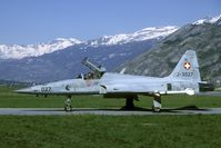 J-3027 @ LSMJ - During the 1997 Wiederholungskurs some missions were flown with live weapons.