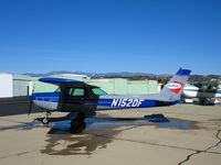N152DF @ KCMA - Sky Blue Air 1979 Cessna 152 at KCMA home base - by Steve Nation