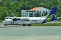 9M-MWC @ WBKK - MAS Wings , 2009 ATR 72-212A, c/n: 863 at Kota Kinabalu - by Terry Fletcher