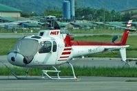 9M-LLV @ WBKK - Aerospatiale AS350B2 Ecureuil at Kota Kinabalu