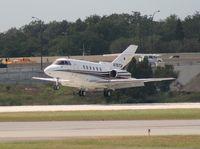 N787CM @ ORL - Hawker 800