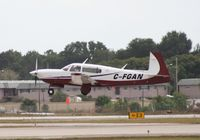 C-FGAN @ ORL - Data shows a Beech 200, but for the past year at least it has been a Mooney.  I got it at NBAA in Orlando in 2009, Nick Dean has it at NBAA Atlanta this year.  Either way, this guy travels a long way from Canada to the NBAA events - by Florida Metal