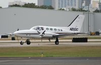 N20DC @ ORL - Cessna 414A