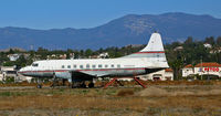 N396CG @ KCMA - Derelict at KCMA/Camarillo Airport, CA - 1960 Convair 240 (owned at one time by Cary Grant?) - by Steve Nation