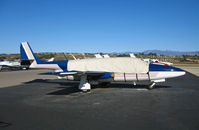 N615DW @ KCMA - D&J Aircraft 1970 TS-11 Iskra at home base (with cover on canopy) - by Steve Nation