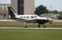 N123TS @ ORL - PA-46-500 - by Florida Metal