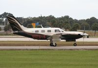 N123TS @ ORL - PA46-500 - by Florida Metal