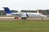 N5012Z @ ORL - Lear 40 with Bald Eagle on VOR