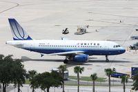 N802UA @ TPA - United A319