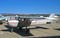 N11397 @ KCMA - 1973 Cessna 150L on Camarillo, CA visitors ramp on sunny January 2007 day - by Steve Nation