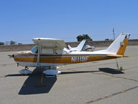 N1119F @ O52 - Locally-based 1966 Cessna 172G at Yuba City, CA - by Steve Nation