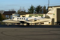 N100LX @ I19 - 1981 Cessna 501 - by Allen M. Schultheiss
