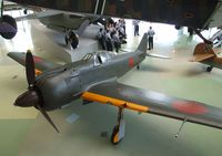 24 - Kawasaki Ki-100-1b  at the RAF Museum, Hendon - by Ingo Warnecke