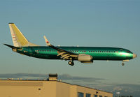 9M-MXB @ KPAE - KPAE Boeing 052 on short final to 16R for a touch and go after first flight out of KRNT - by Nick Dean