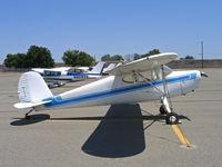 N13CN @ O52 - 1947 Cessna 140 as NC13CN @ Yuba City, CA - by Steve Nation
