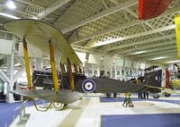 F1010 - DeHavilland D.H.9A at the RAF Museum, Hendon