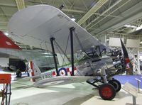 K2227 - Bristol Bulldog Mk IIA at the RAF Museum, Hendon