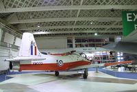 XW323 - Hunting (BAC) Jet Provost T5A at the RAF Museum, Hendon