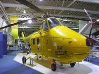 XP299 - Westland Whirlwind HAR10 at the RAF Museum, Hendon