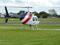 VH-BLN @ YMMB - Bell 206B at Moorabbin.