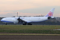 B-18801 @ VIE - China Airlines