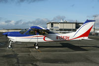 N1563H @ KPAE - KPAE Fresh from the paint shop