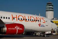 OK-WGX @ LOWW - CSA Holidays Boeing 737-400 - by Dietmar Schreiber - VAP