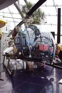 D-HEBA - Flying Bulls Hangar 7  Bell 47 - by Delta Kilo