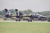 ES-YLX @ LHKE - Private - Breitling Jet Team - by Delta Kilo