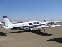 N4307T @ O15 - 1972 Piper PA-32-300 visiting Turlock, CA - by Steve Nation