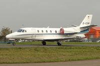 D-CINI @ EGGW - Cessna 560XL Citation Excel, c/n: 560-5195 at Luton - by Terry Fletcher